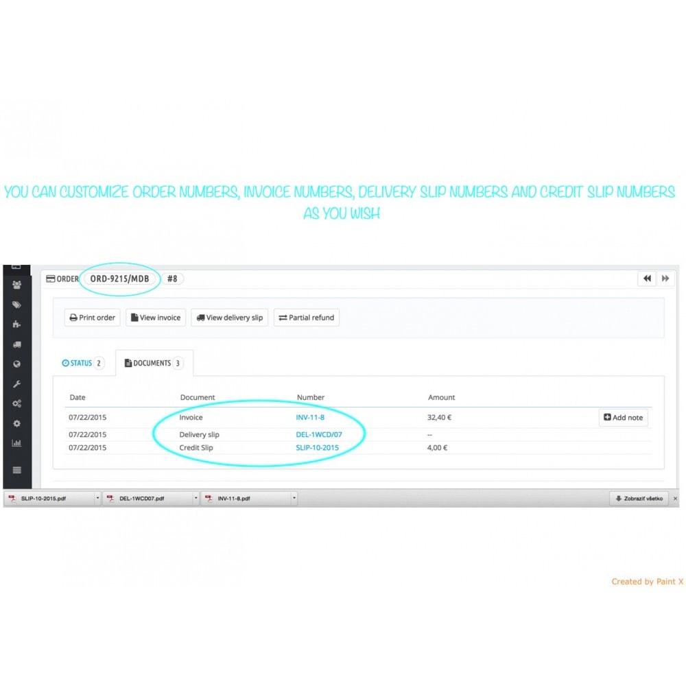 module - Comptabilité & Facturation - Génération avancée des nombres de commandes, etc. - 1