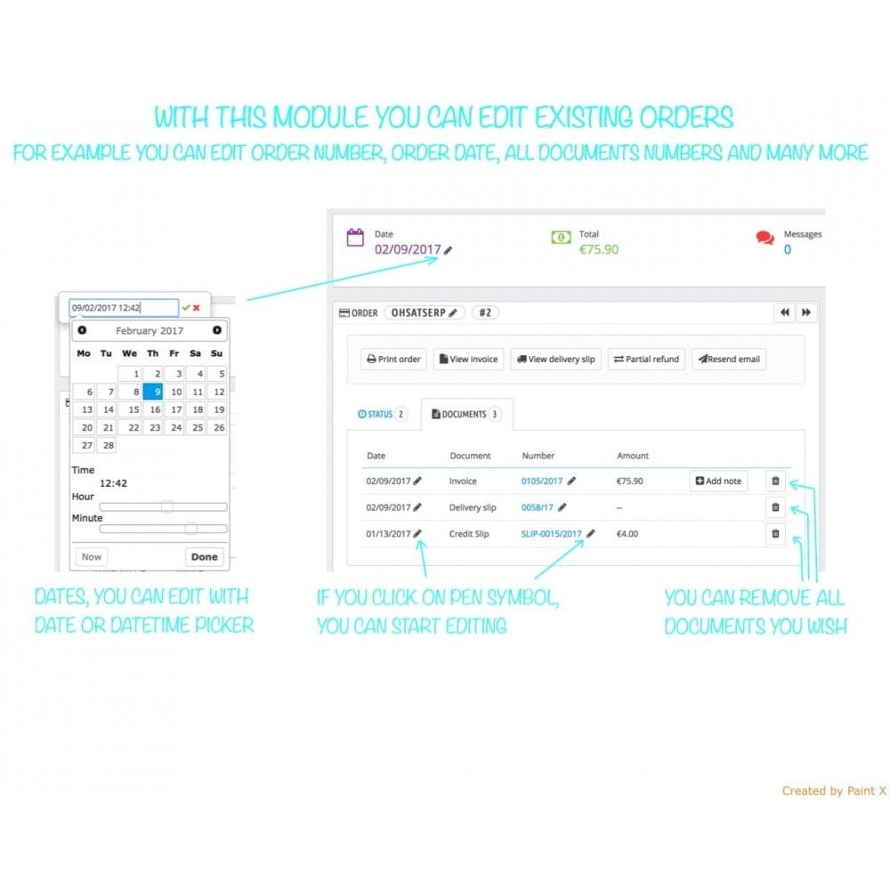 module - Gestion des Commandes - Gestion des commandes et des numéros de documents - 1