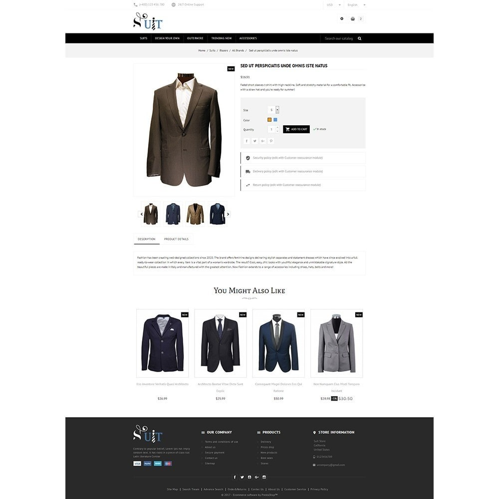 theme - Mode & Schoenen - Suit Store - 5