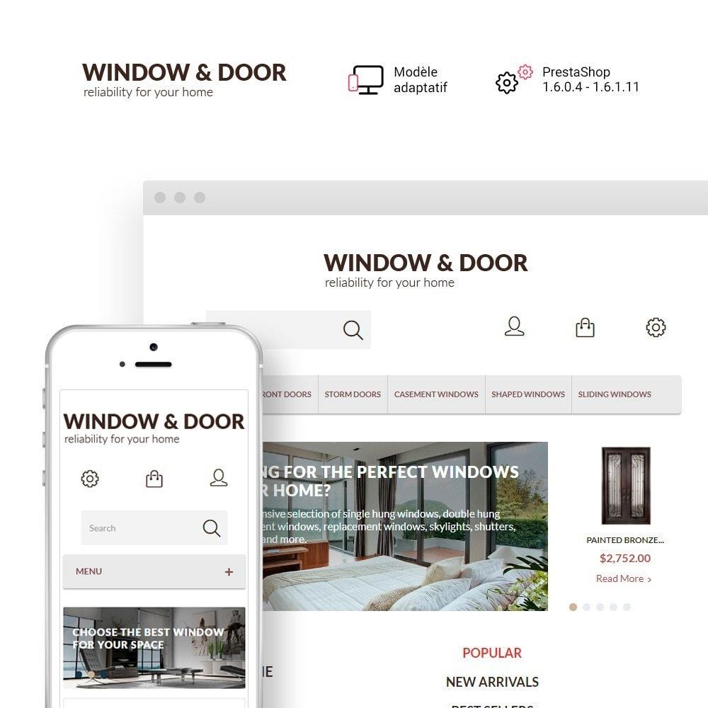 theme - Maison & Jardin - Window Door thème PrestaShop - 1