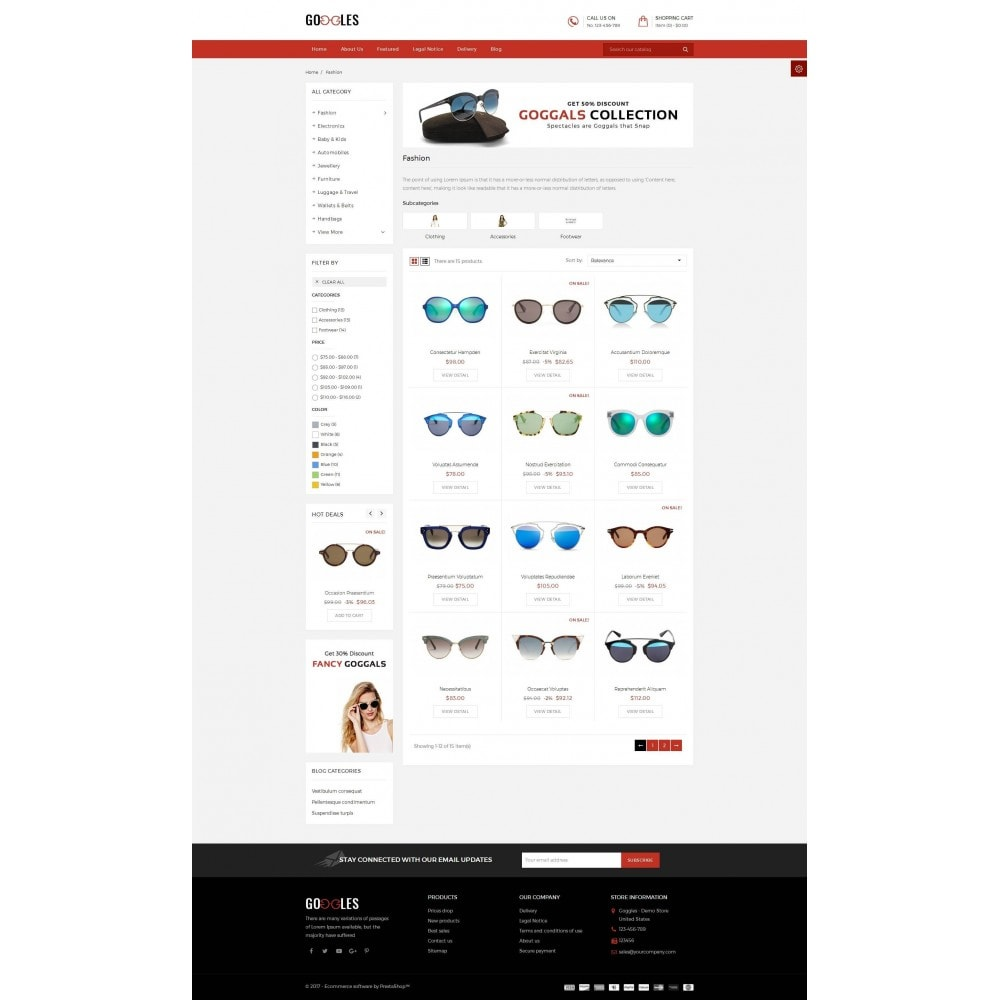 theme - Mode & Schoenen - Goggles Shop - 3