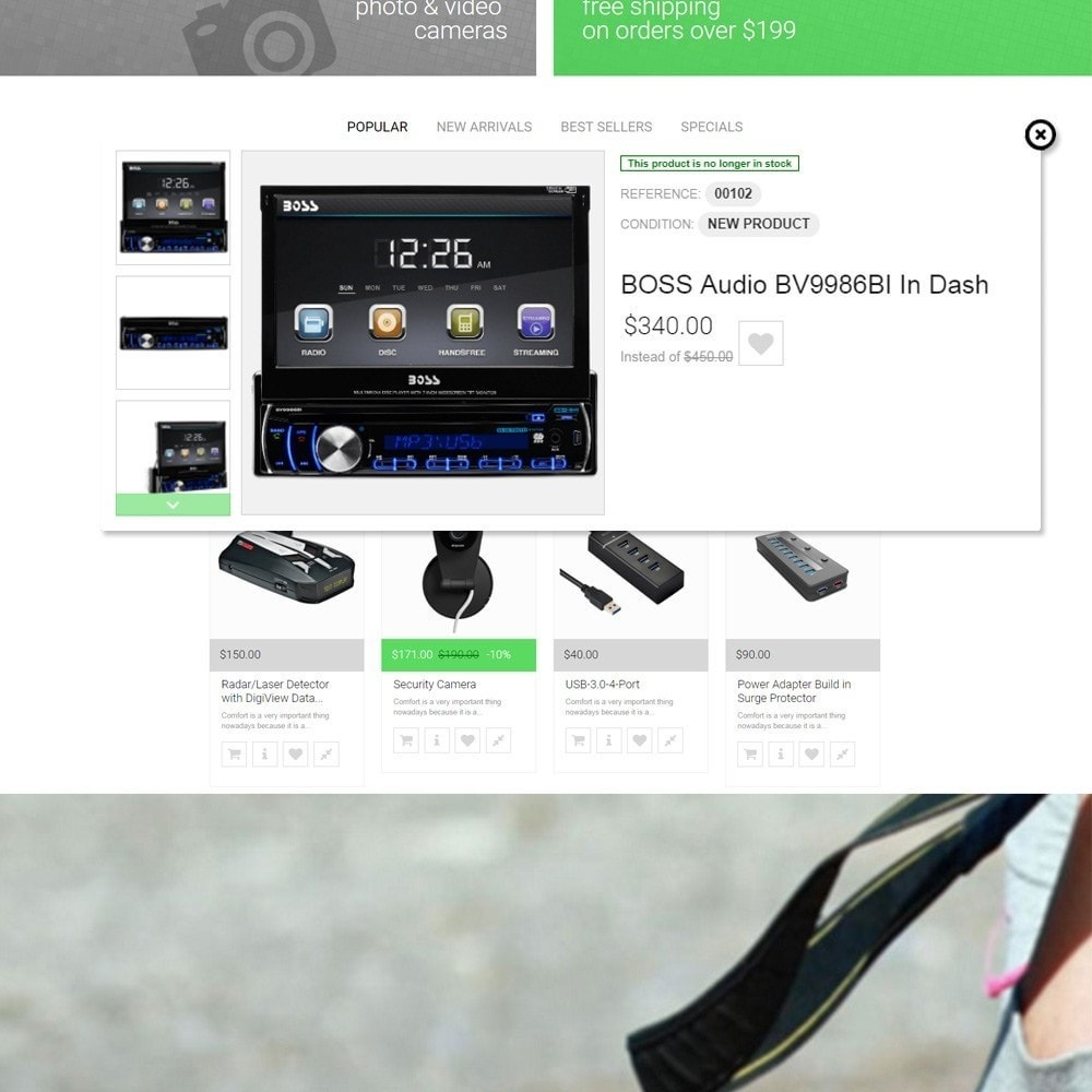 theme - Elektronica & High Tech - Modern Chip PrestaShop Theme - 4