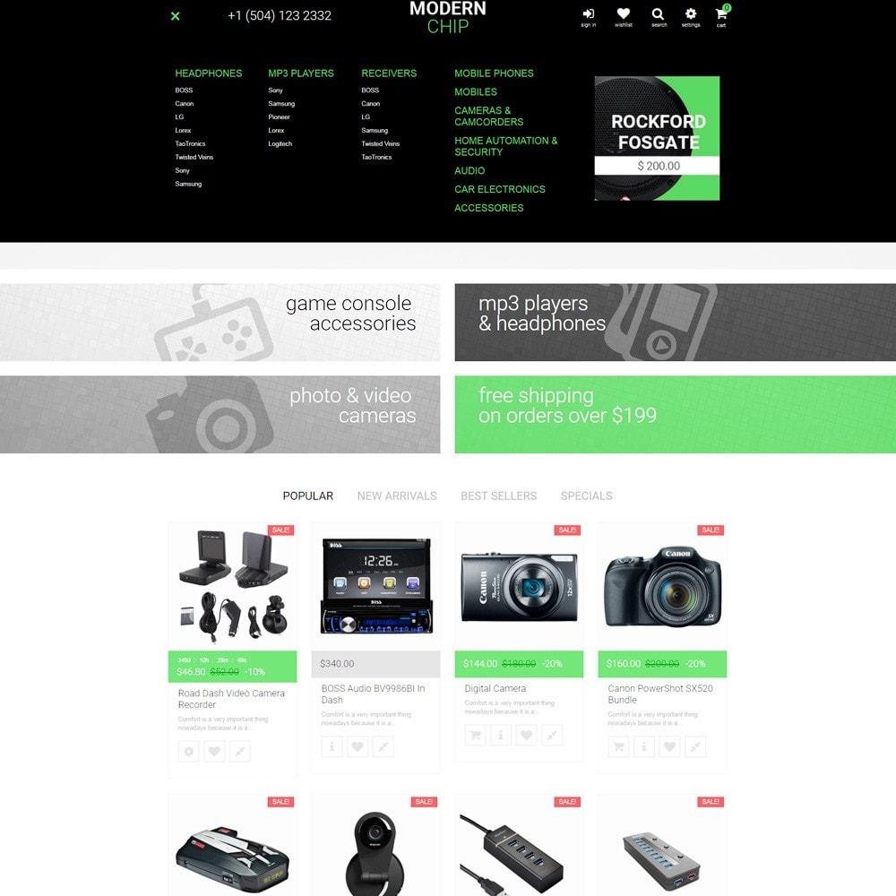 theme - Elettronica & High Tech - Modern Chip - Elettronica Tema PrestaShop Responsive - 3