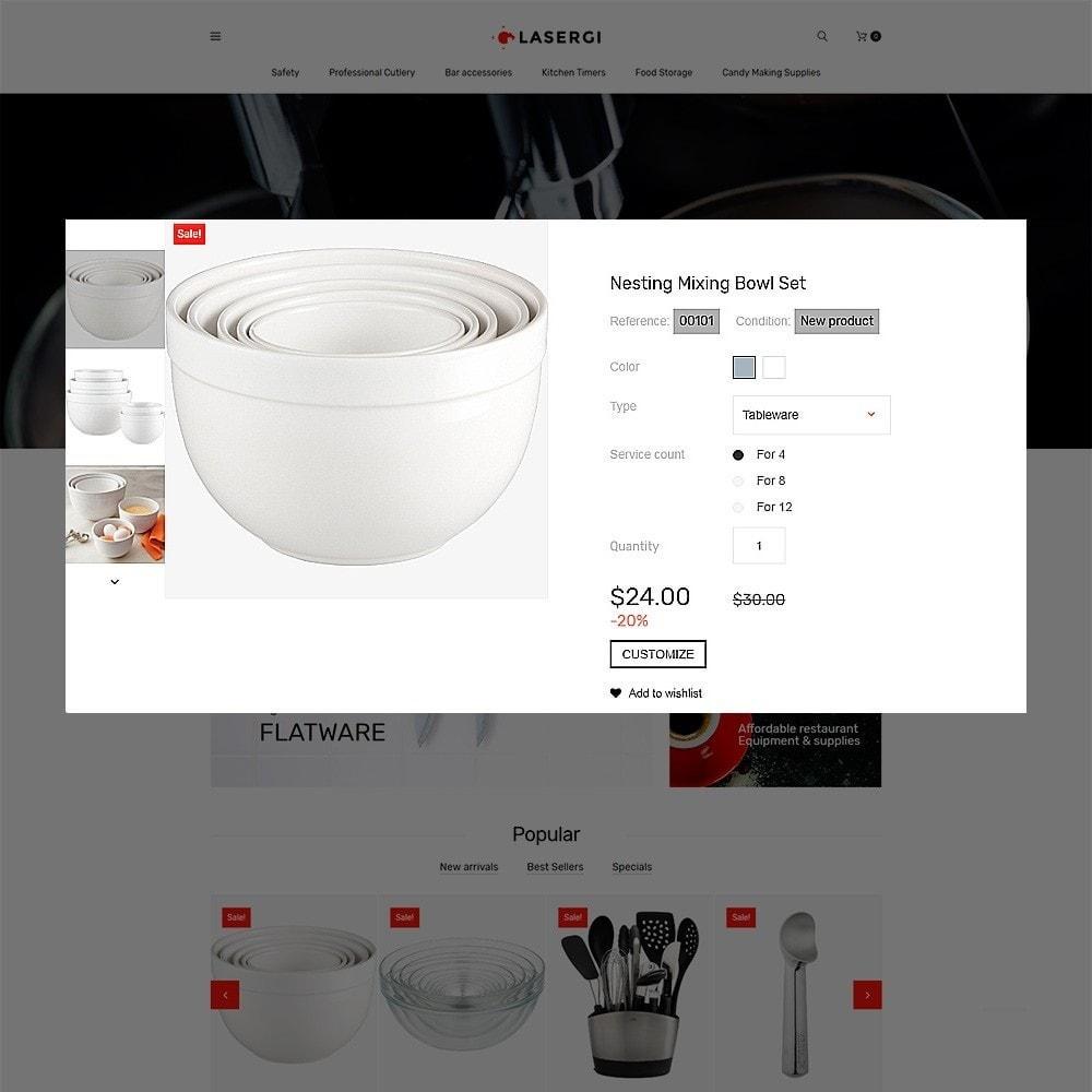 theme - Cibo & Ristorazione - Glasergi – Negozio di utensili da cucina - 3