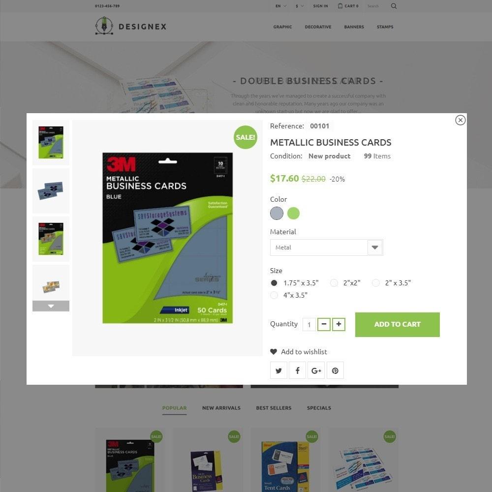 theme - Искусство и Культура - Designex - PrestaShop шаблон студии дизайна - 3