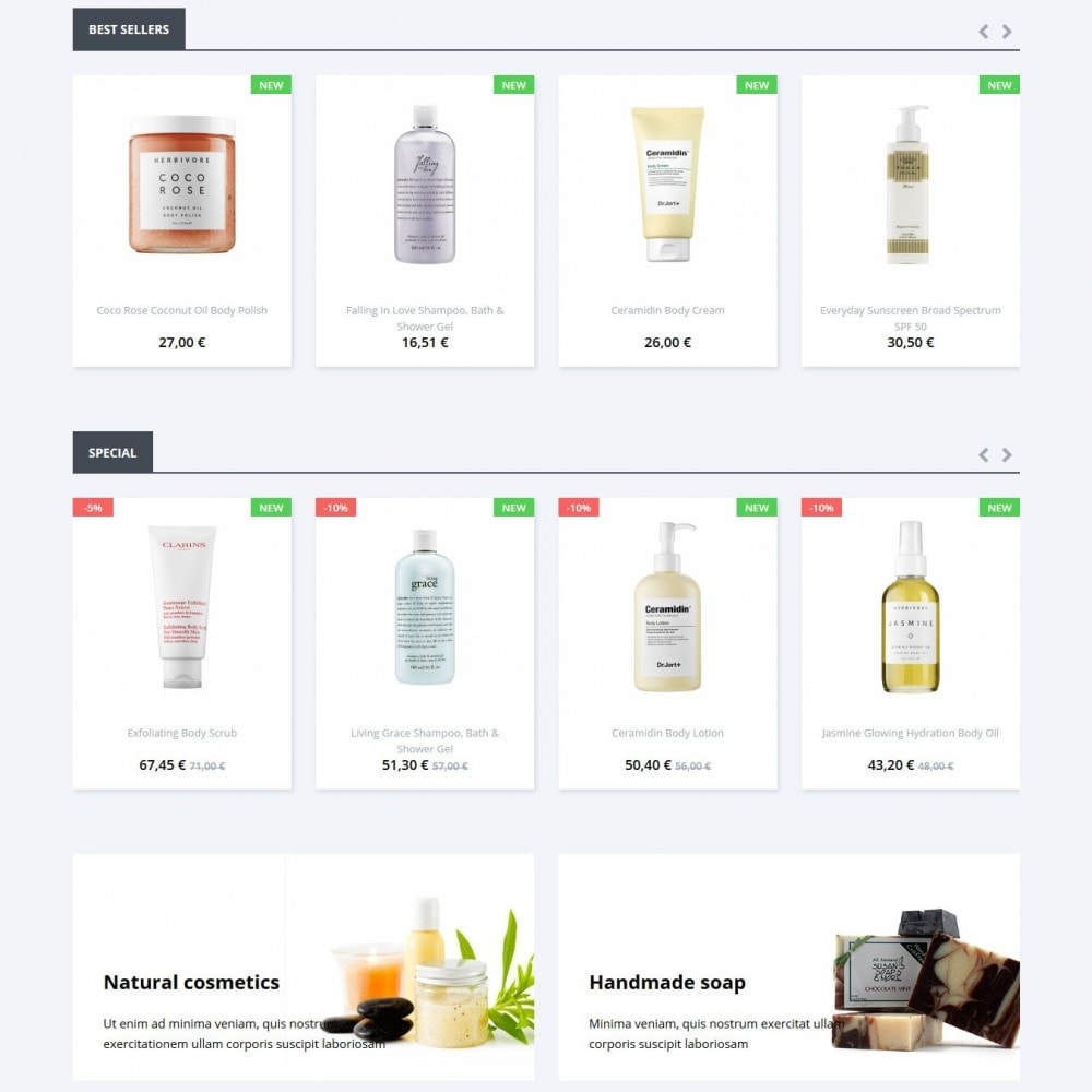 theme - Health & Beauty - Cassiopea Cosmetics - 3