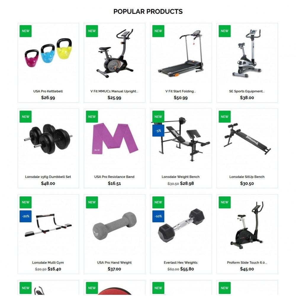 theme - Sport, Attività & Viaggi - Bodybuilding - 3