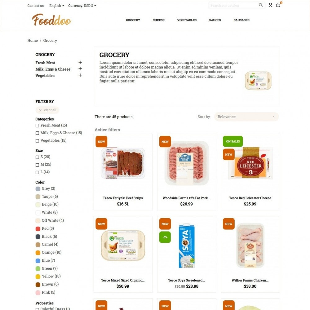 theme - Eten & Restaurant - Fooddoo - 5