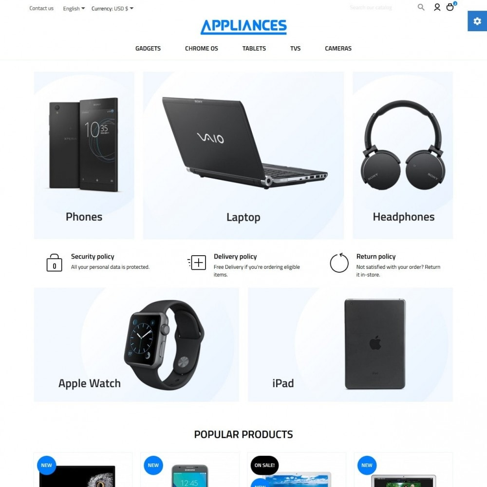 theme - Электроника и компьютеры - Appliances - High-tech Shop - 2