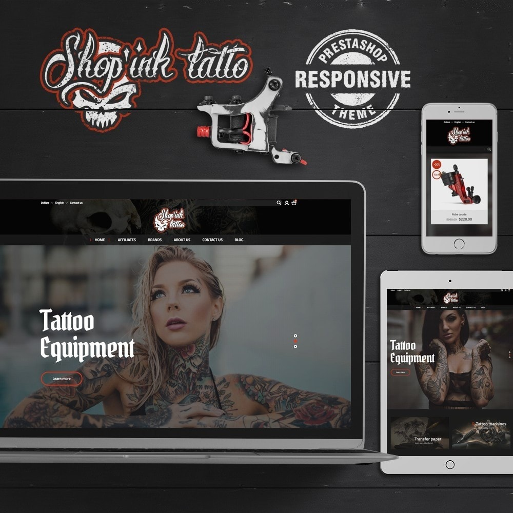 theme - Kultura & Sztuka - Shop'ink Tattoo - 1