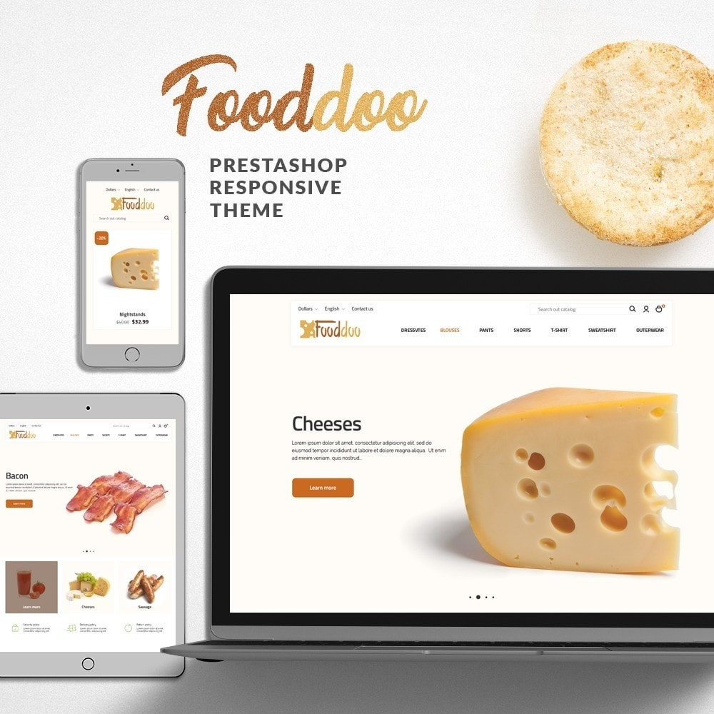 theme - Food & Restaurant - Fooddoo - 1