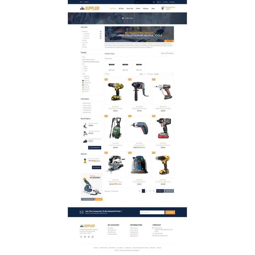 theme - Carros & Motos - Supplier Tools Store - 3