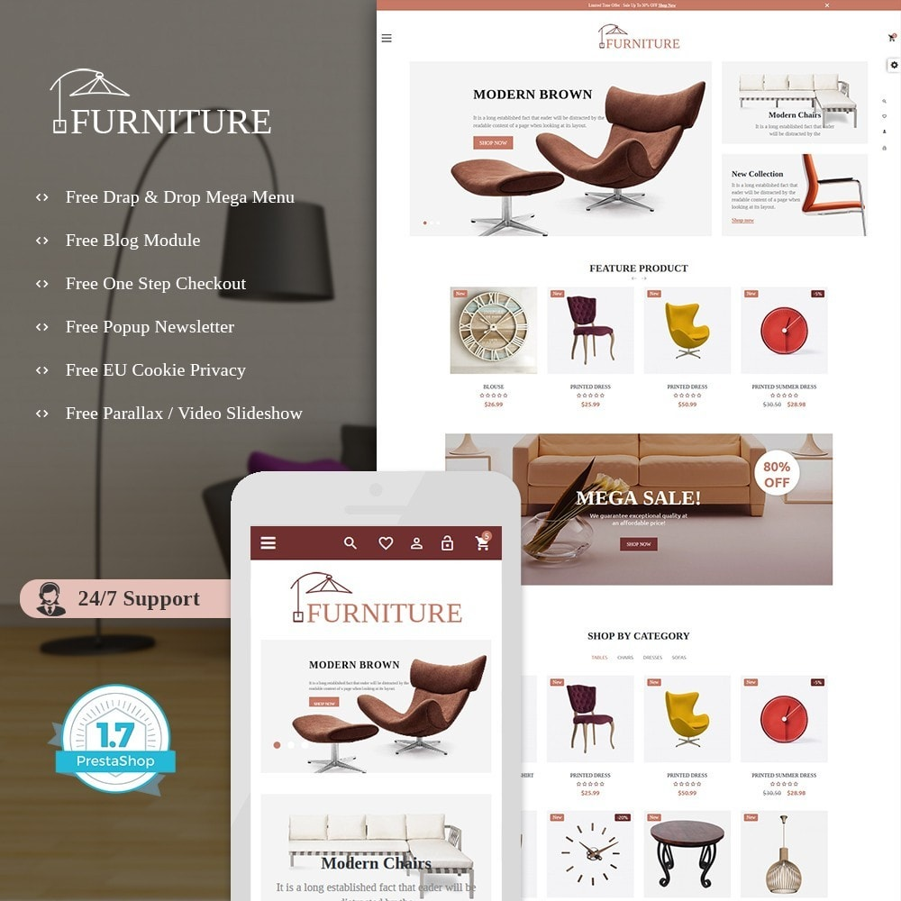 theme - Дом и сад - FurCraft Furniture Store - 1