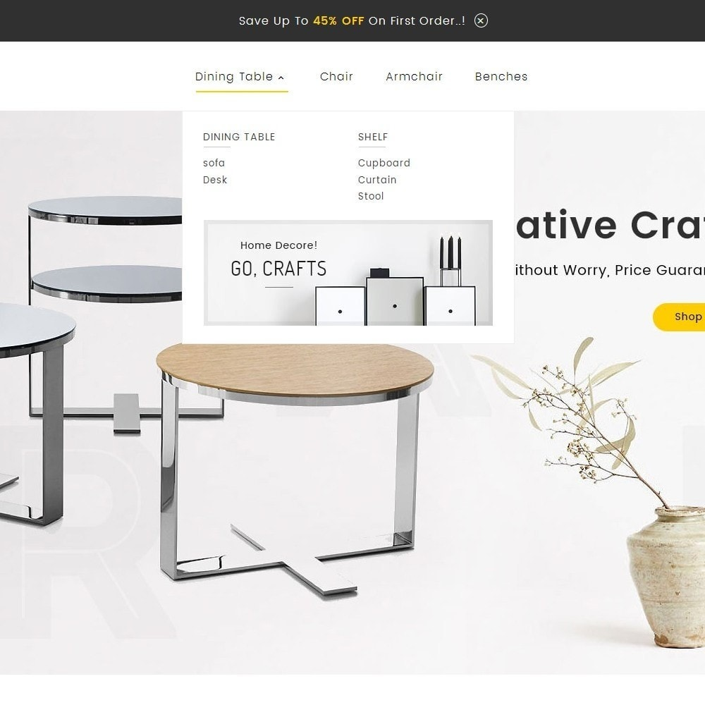 theme - Casa & Jardins - Craft Furniture Store - 9