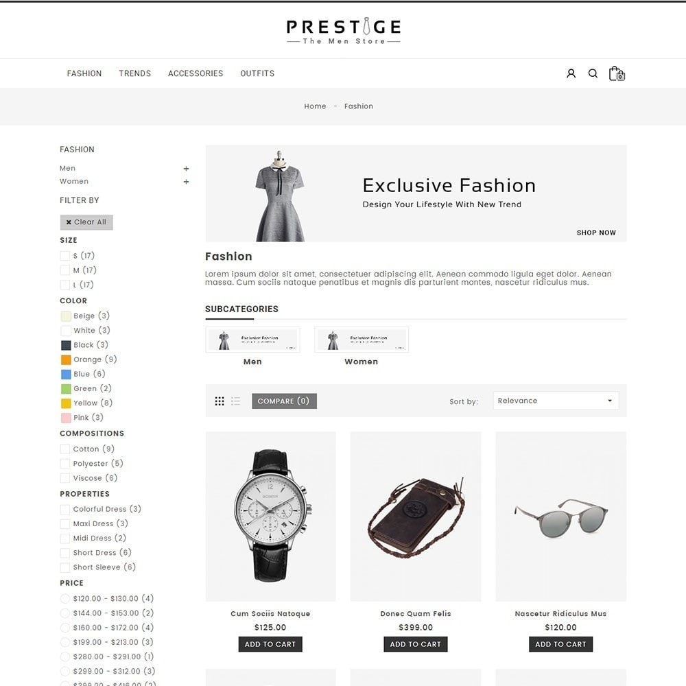 theme - Mode & Schoenen - Prestige Fashion Store - 3
