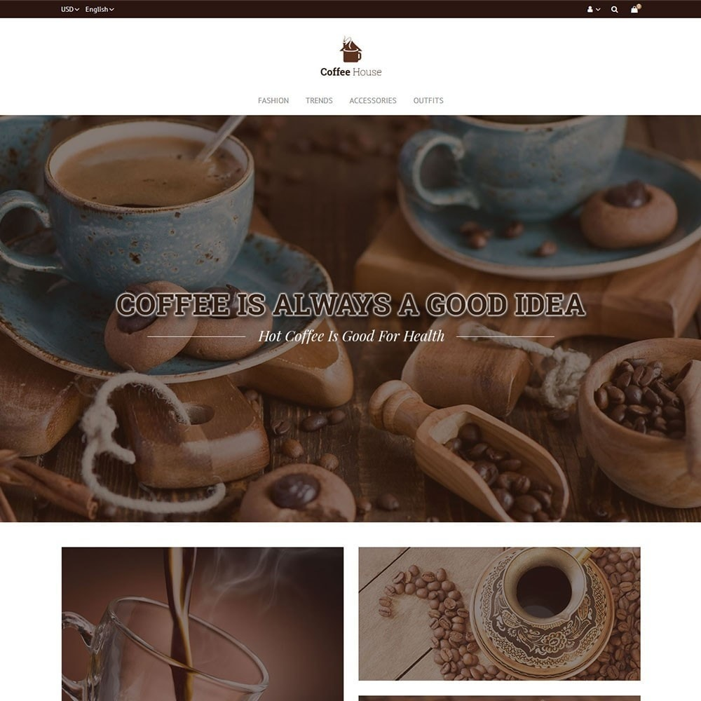 theme - Продовольствие и рестораны - Coffee House Store - 2
