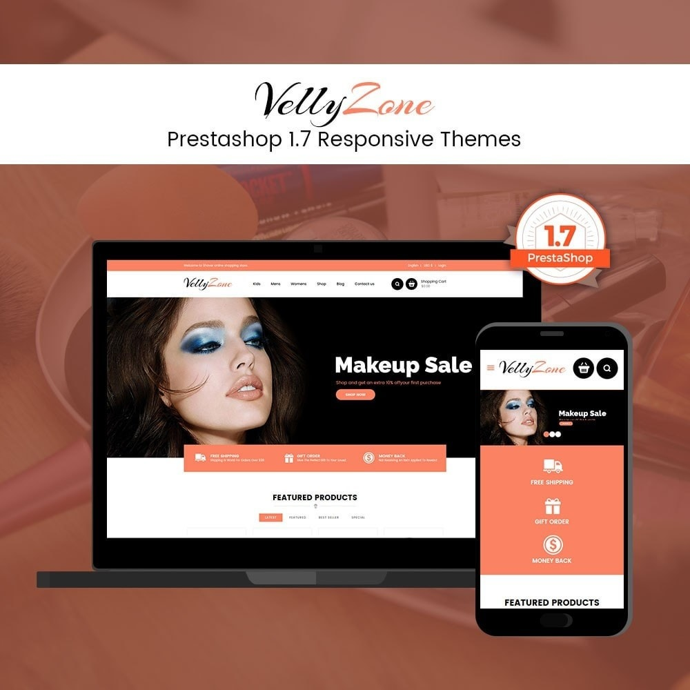 theme - Health & Beauty - Vellyzone - Cosmetics  Store - 1
