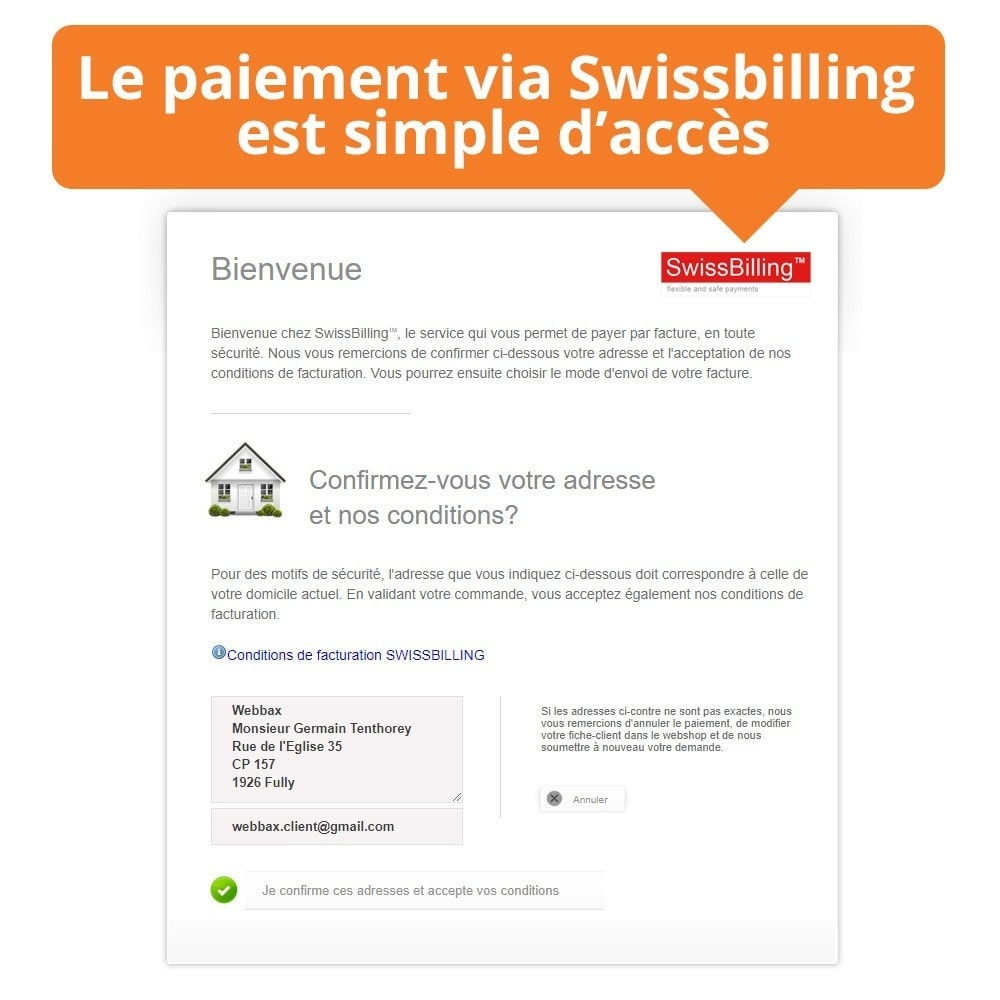 module - Pago mediante Factura - Swissbilling - Payment by invoice - 4