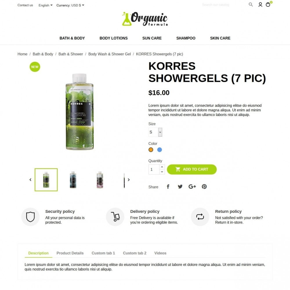 theme - Gezondheid & Schoonheid - OrganicFormula Cosmetics - 6