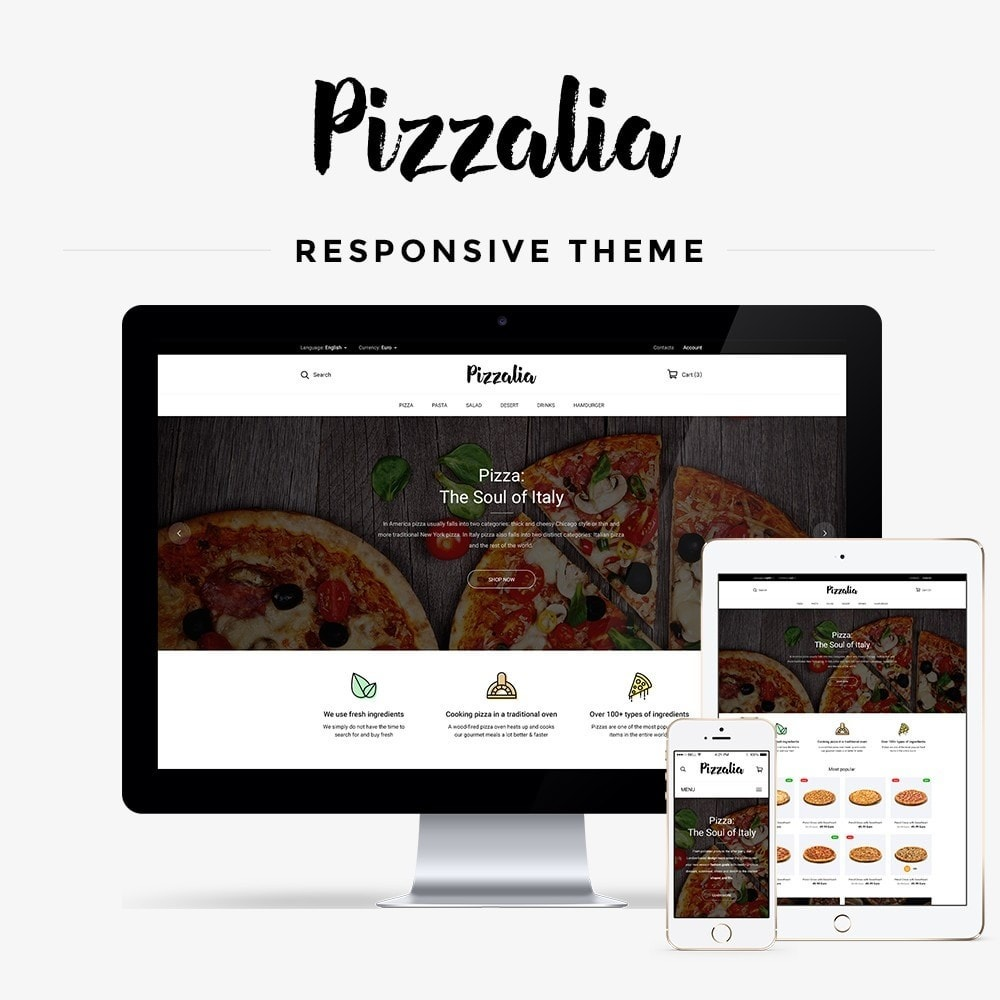 theme - Eten & Restaurant - Pizzalia - 1