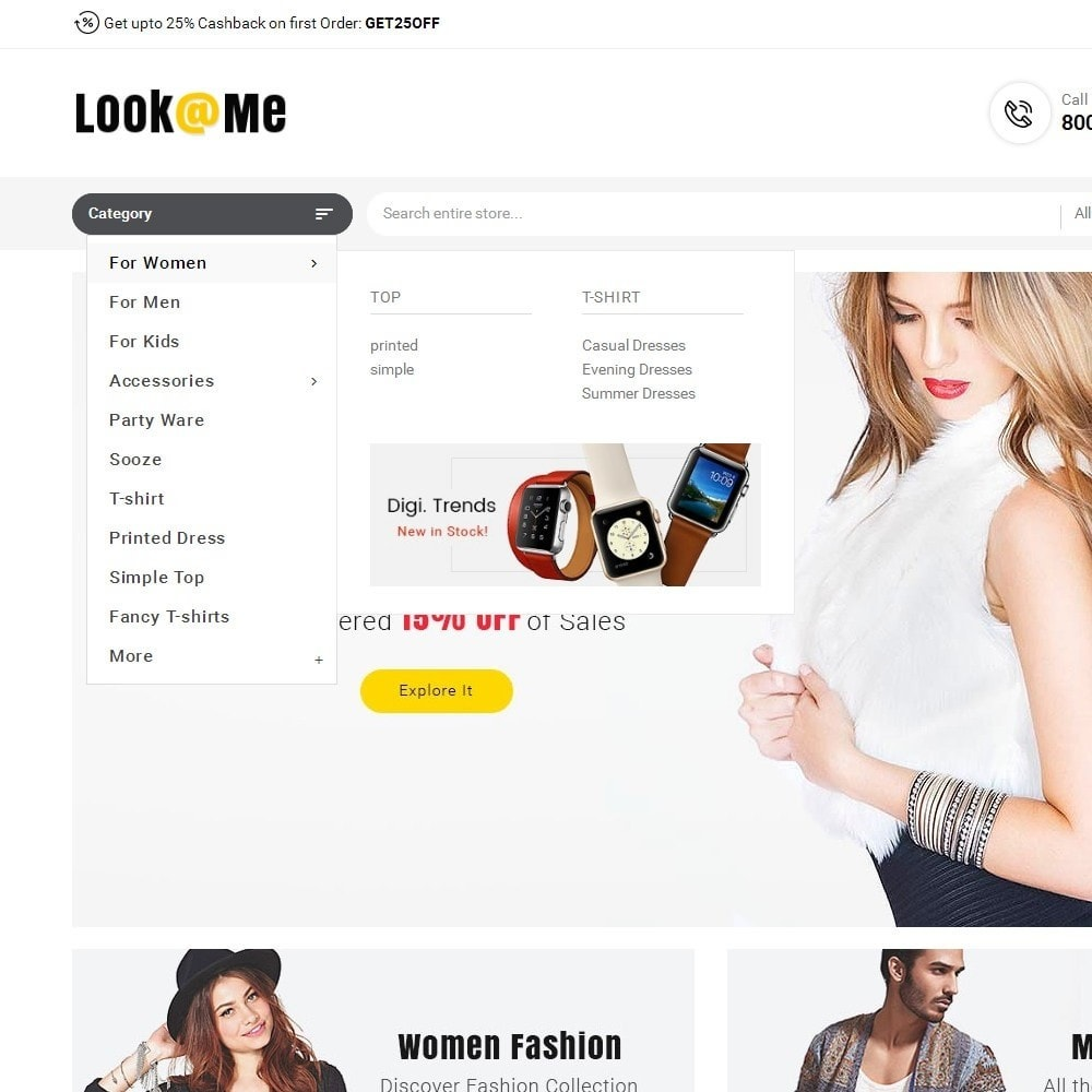theme - Мода и обувь - Look me Fashion - 9