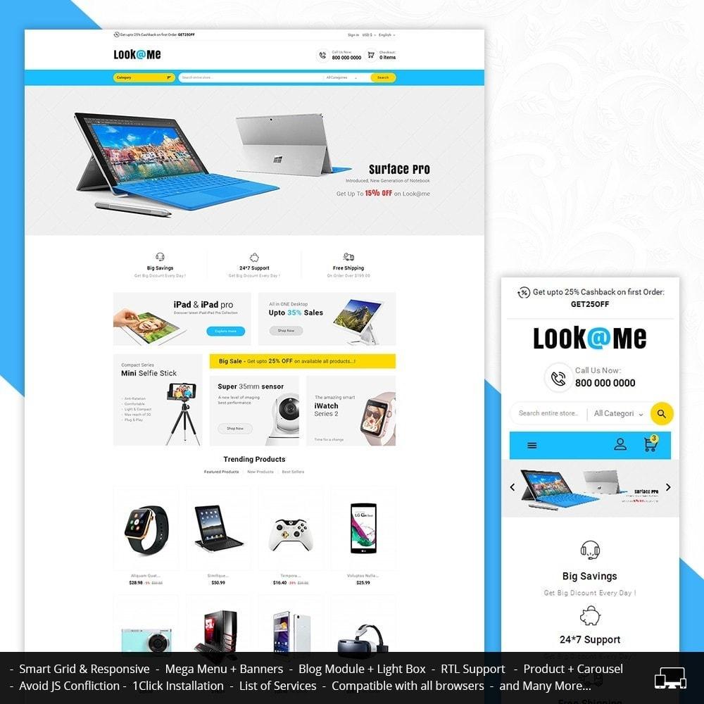 theme - Electrónica e High Tech - Look me Electronics - 1