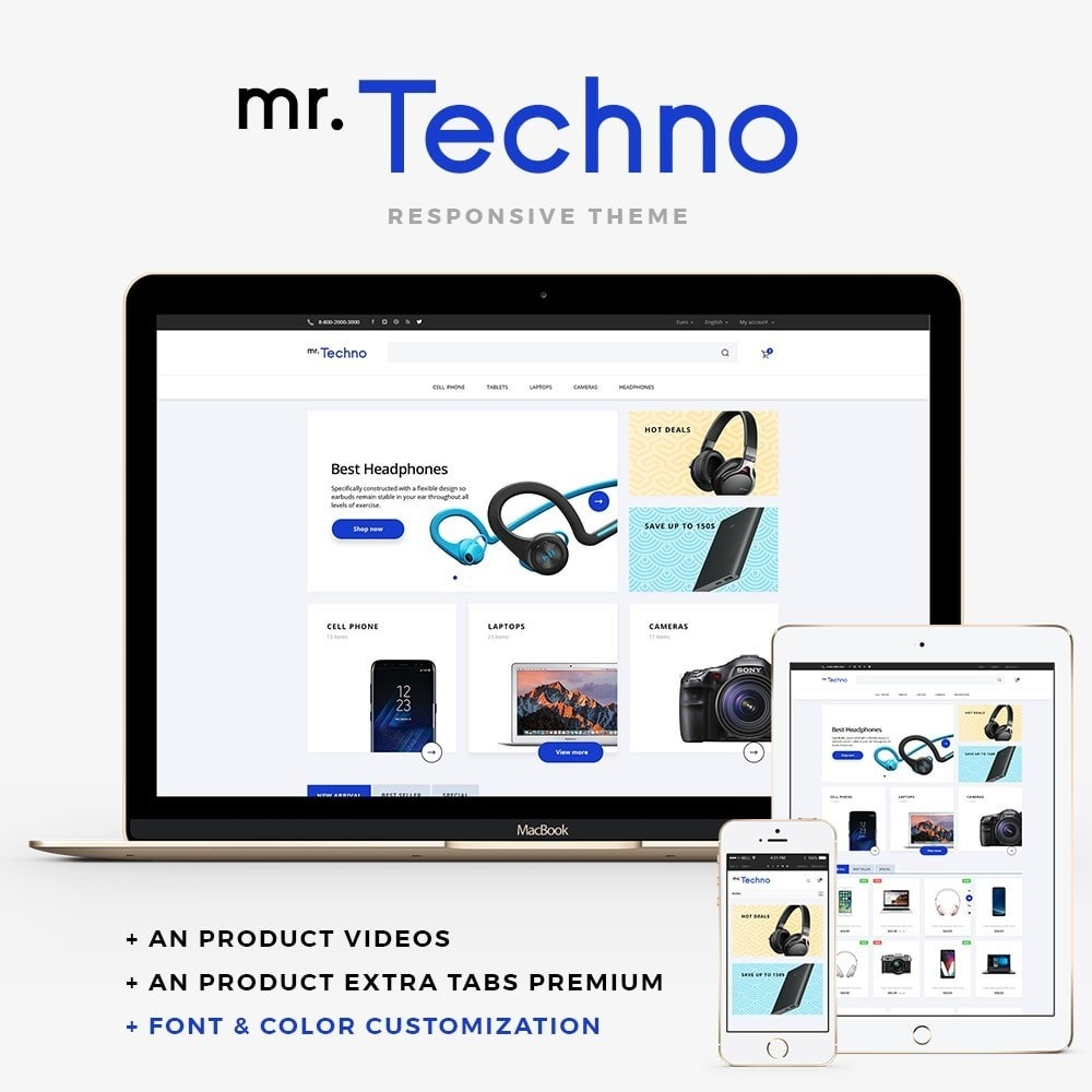 theme - Elettronica & High Tech - mr.Techno - 1