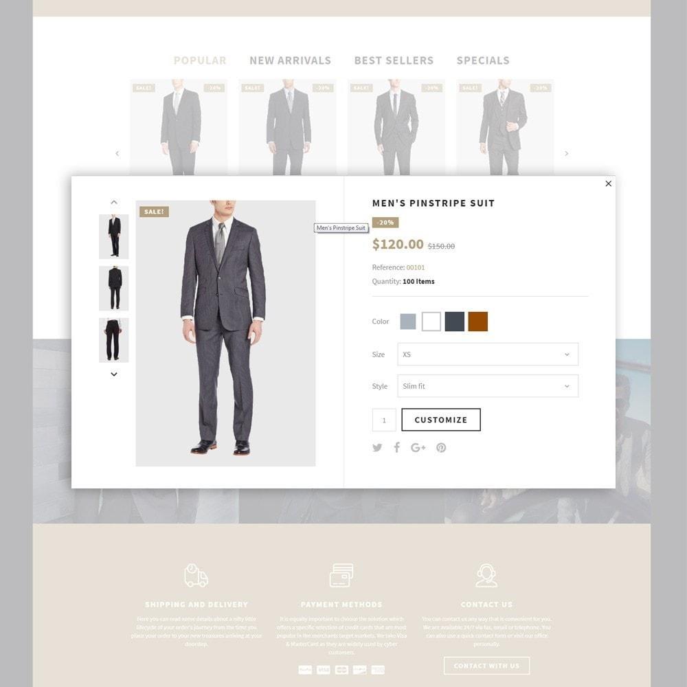 theme - Moda y Calzado - Lefishor - Tema de PrestaShop para Sitio de Moda - 6