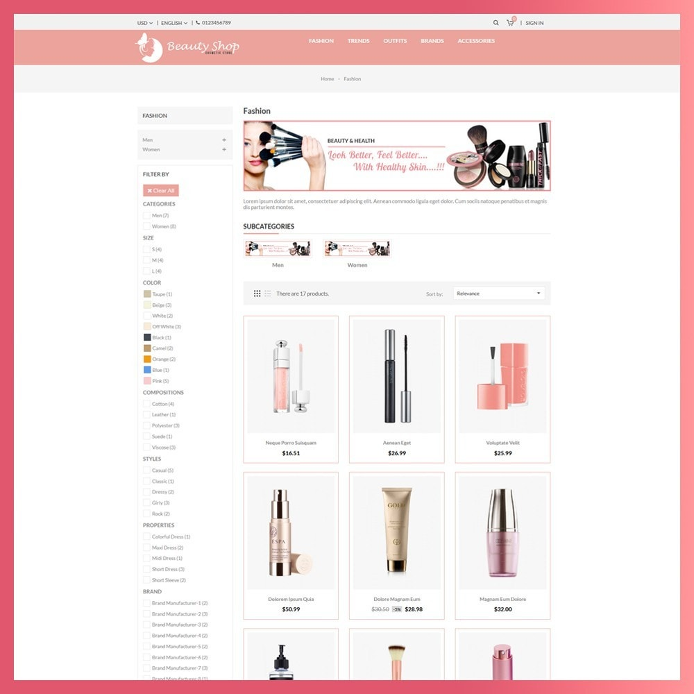 theme - Salute & Bellezza - Beauty Cosmetic store - 3