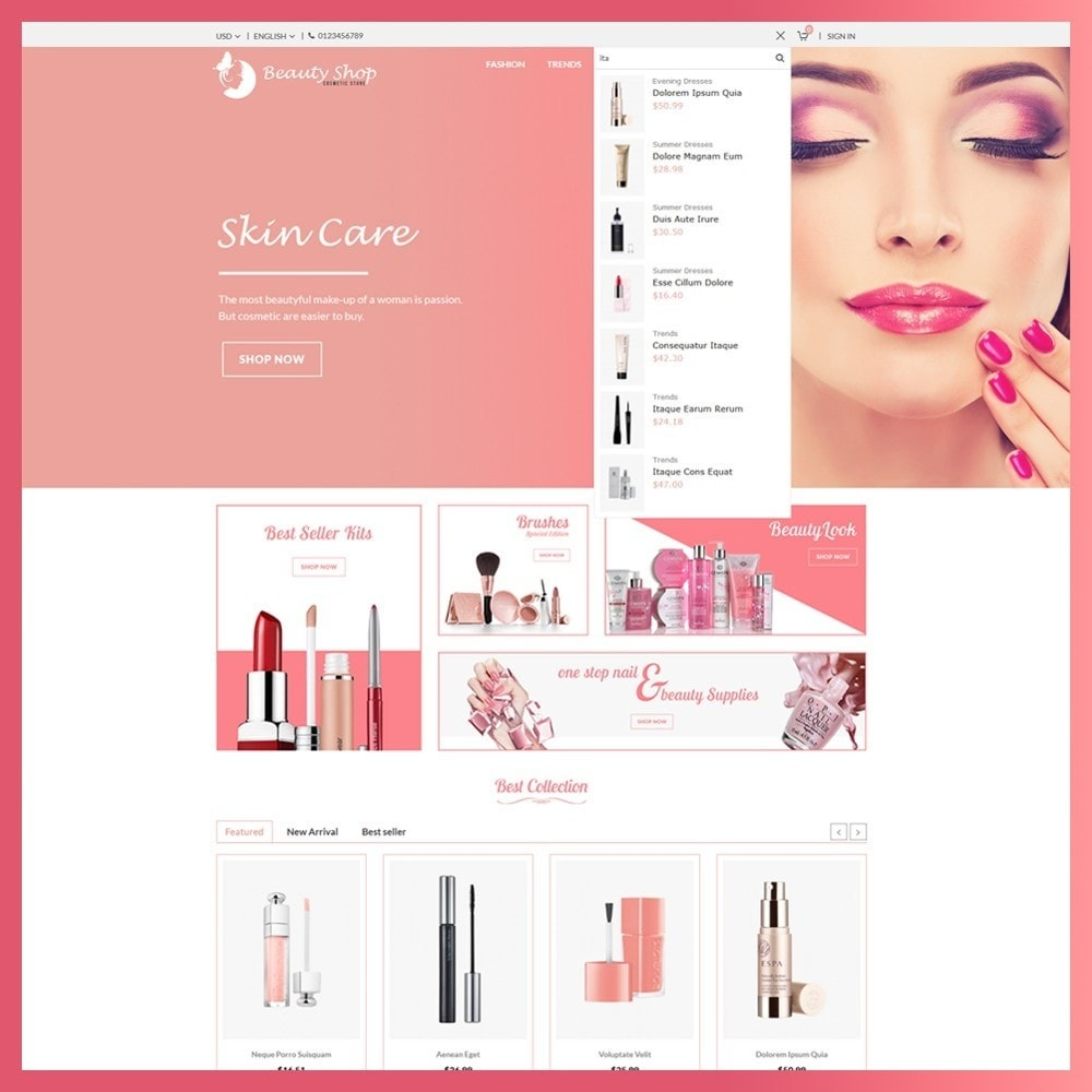 theme - Salud y Belleza - Beauty Cosmetic store - 5