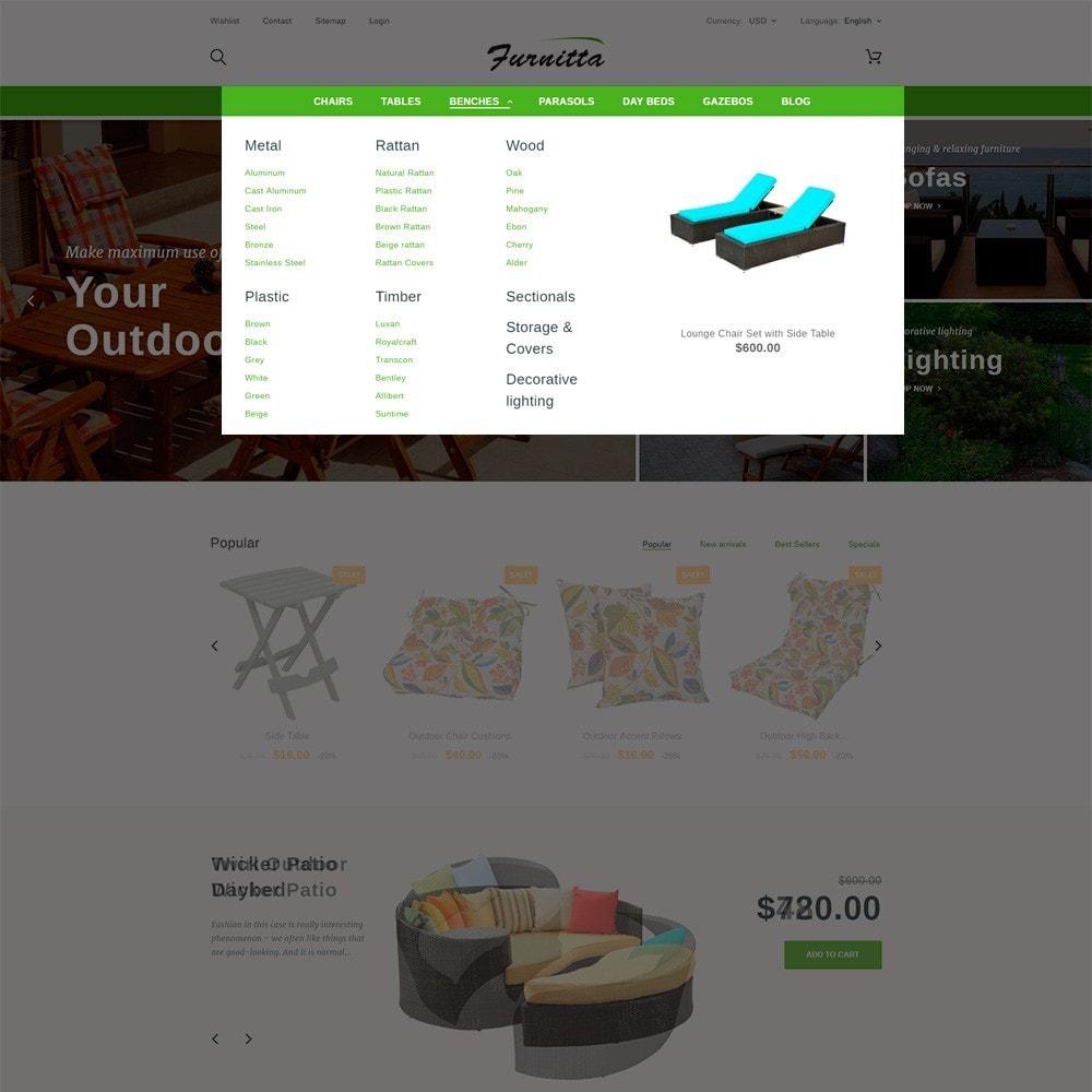 theme - Maison & Jardin - Furnitta - Mobilier d'extérieur thème PrestaShop - 5