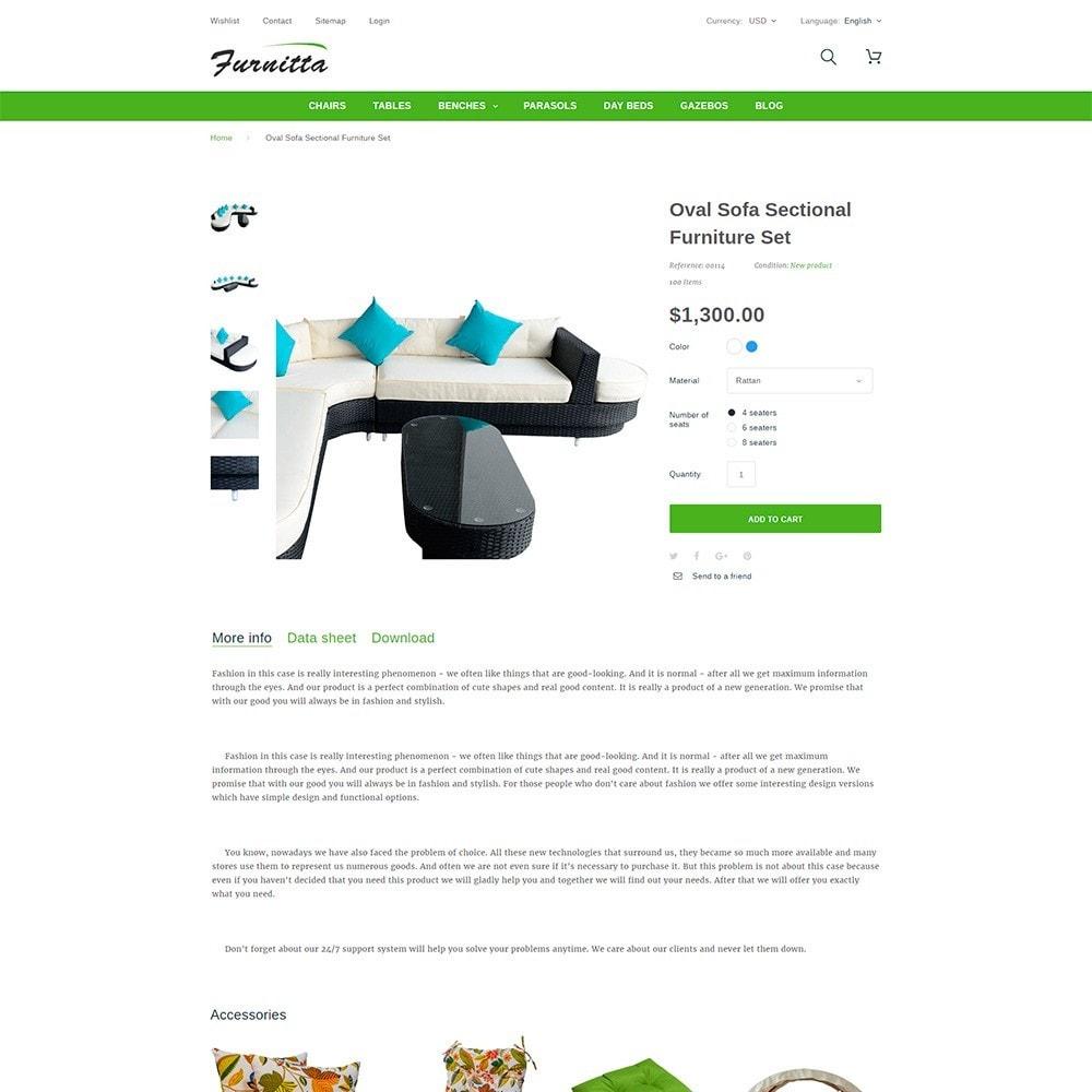 theme - Дом и сад - Furnitta - магазин садовой мебели - 7
