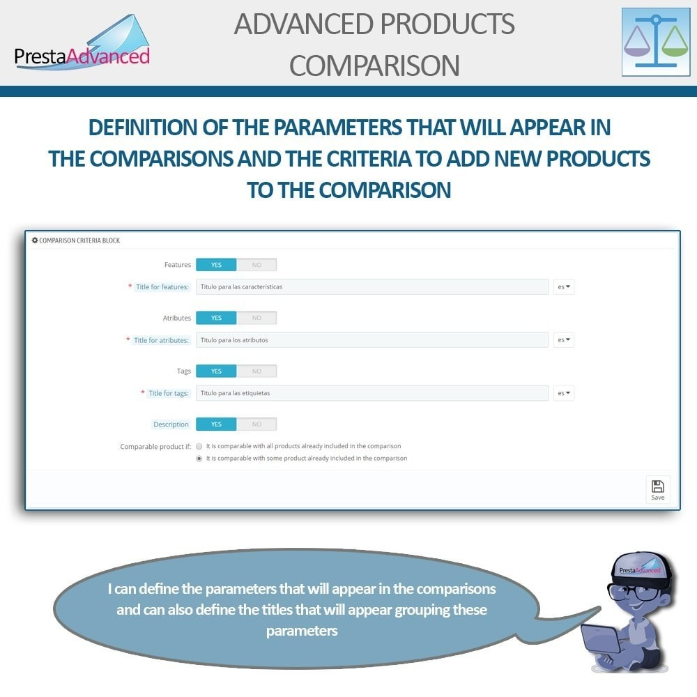 module - Comparatori di prezzi - Advanced Product Comparison - 4