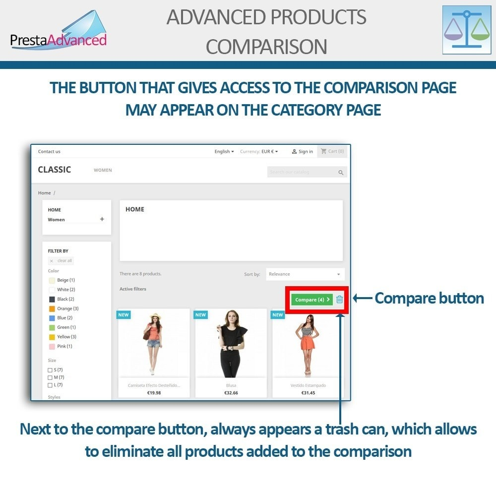 module - Comparatori di prezzi - Advanced Product Comparison - 7
