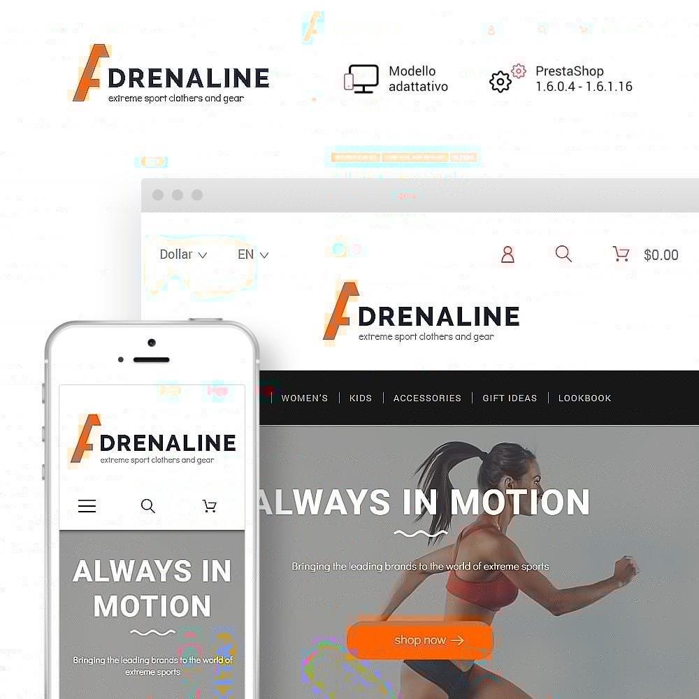 theme - Sport, Attività & Viaggi - Adrenaline - 1