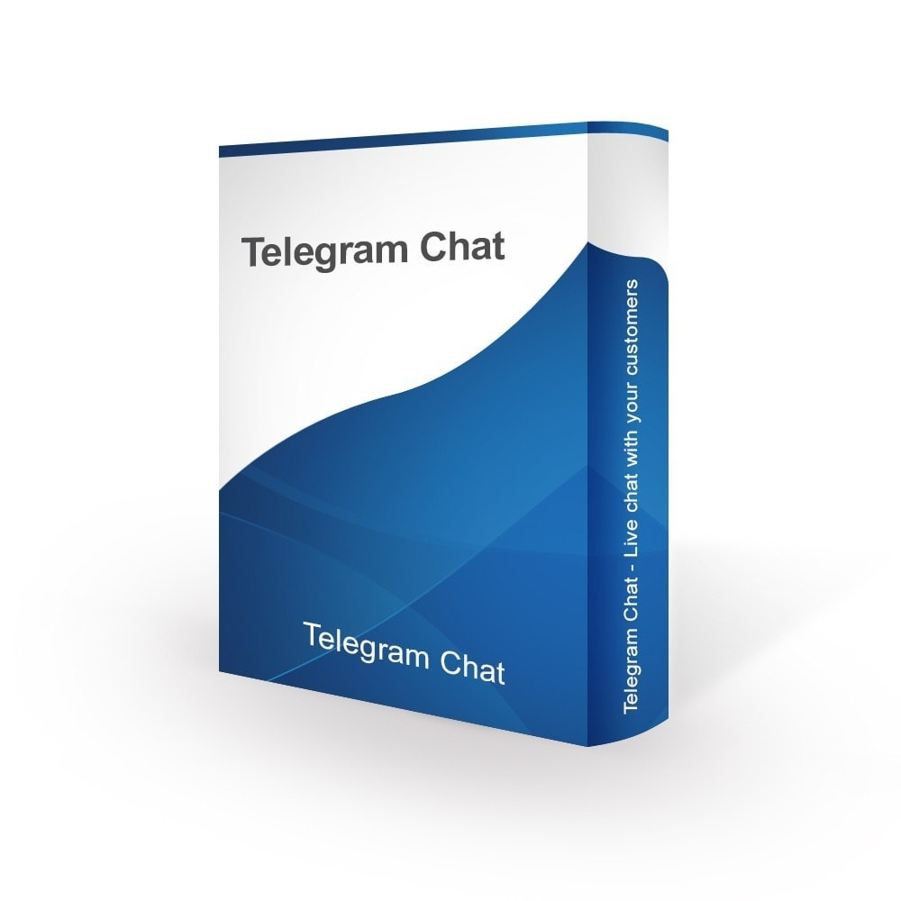 module - Поддержка и онлайн-чат - Telegram Chat - Live chat with your customers - 1