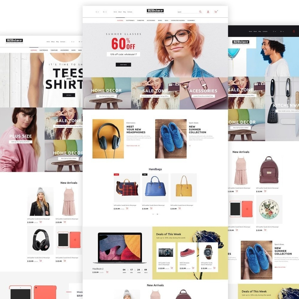 theme - Fashion & Shoes - B2Bstore - 2