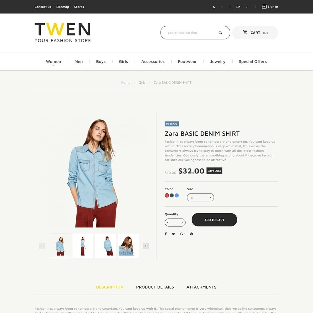 theme - Mode & Schuhe - Twen - Fashion Store Responsive - 3