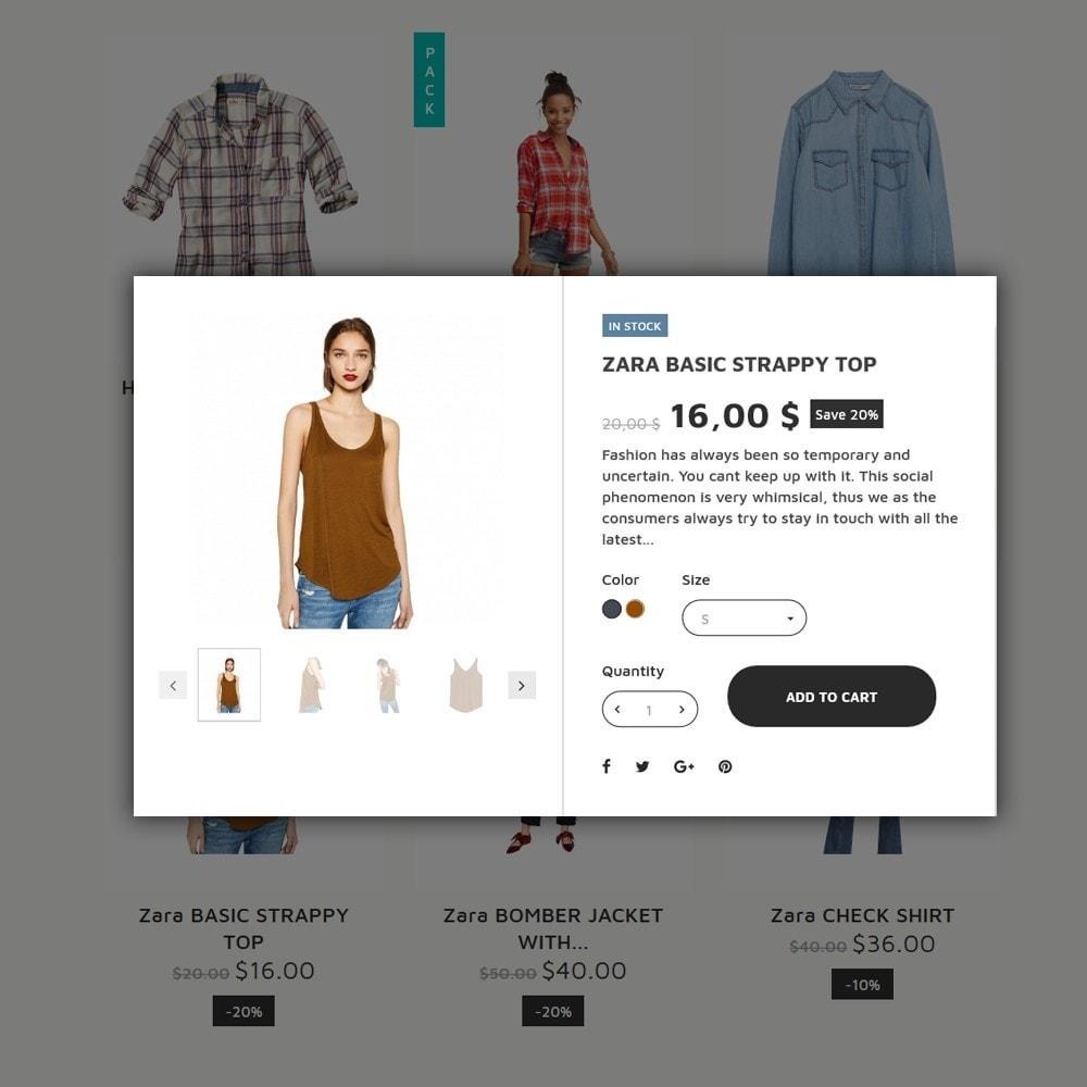 theme - Mode & Chaussures - Twen - magasin de mode thème PrestaShop adaptatif - 5