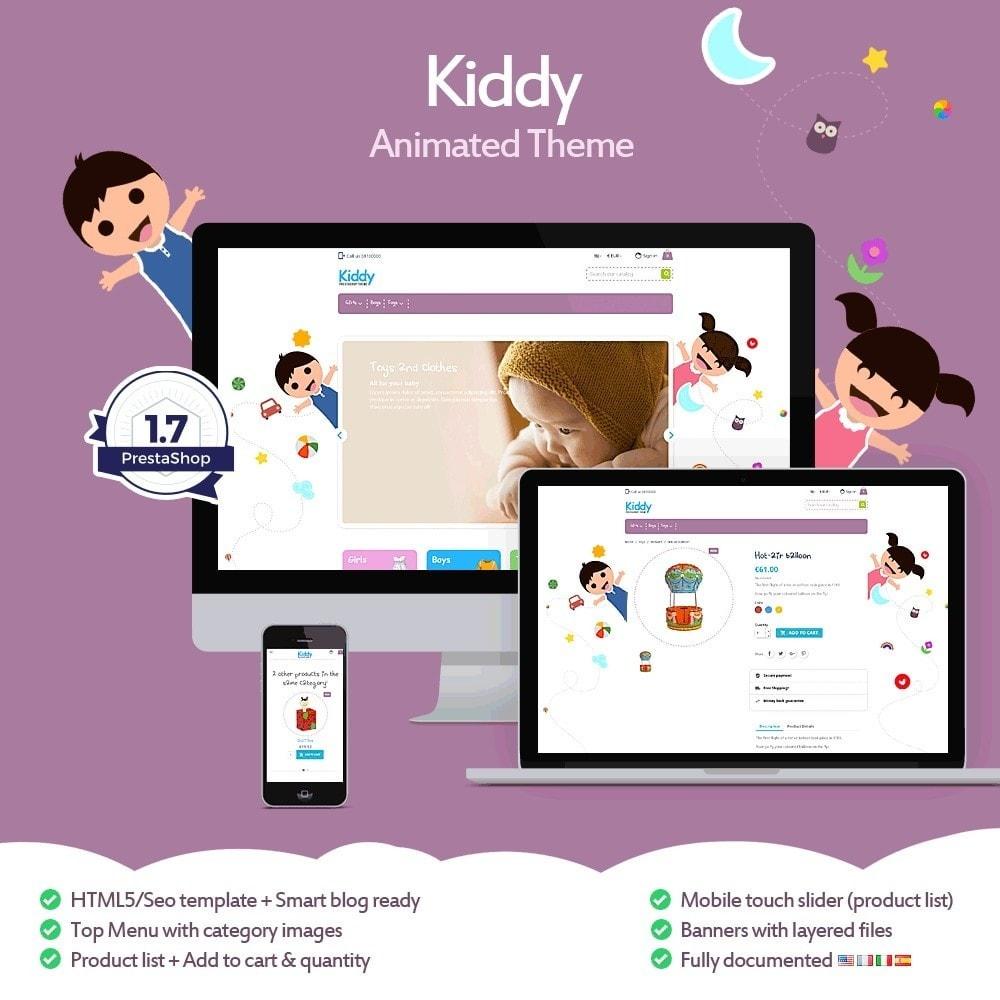 theme - Niños y Juguetes - Kiddy - Tienda Infantil - 1