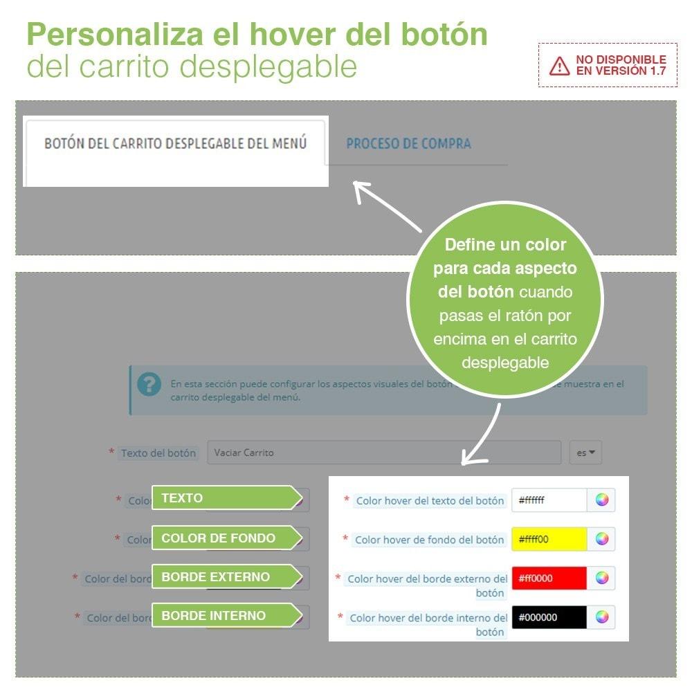module - Inscripción y Proceso del pedido - Botón Vaciar Carrito – Eliminar productos del carrito - 4