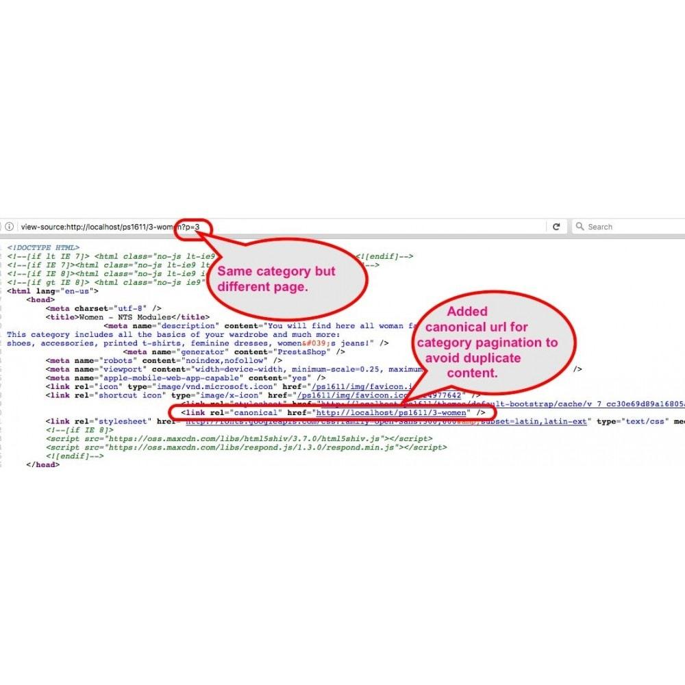module - SEO (référencement naturel) - SEO NOindex,follow (handles Duplicate content) - 9