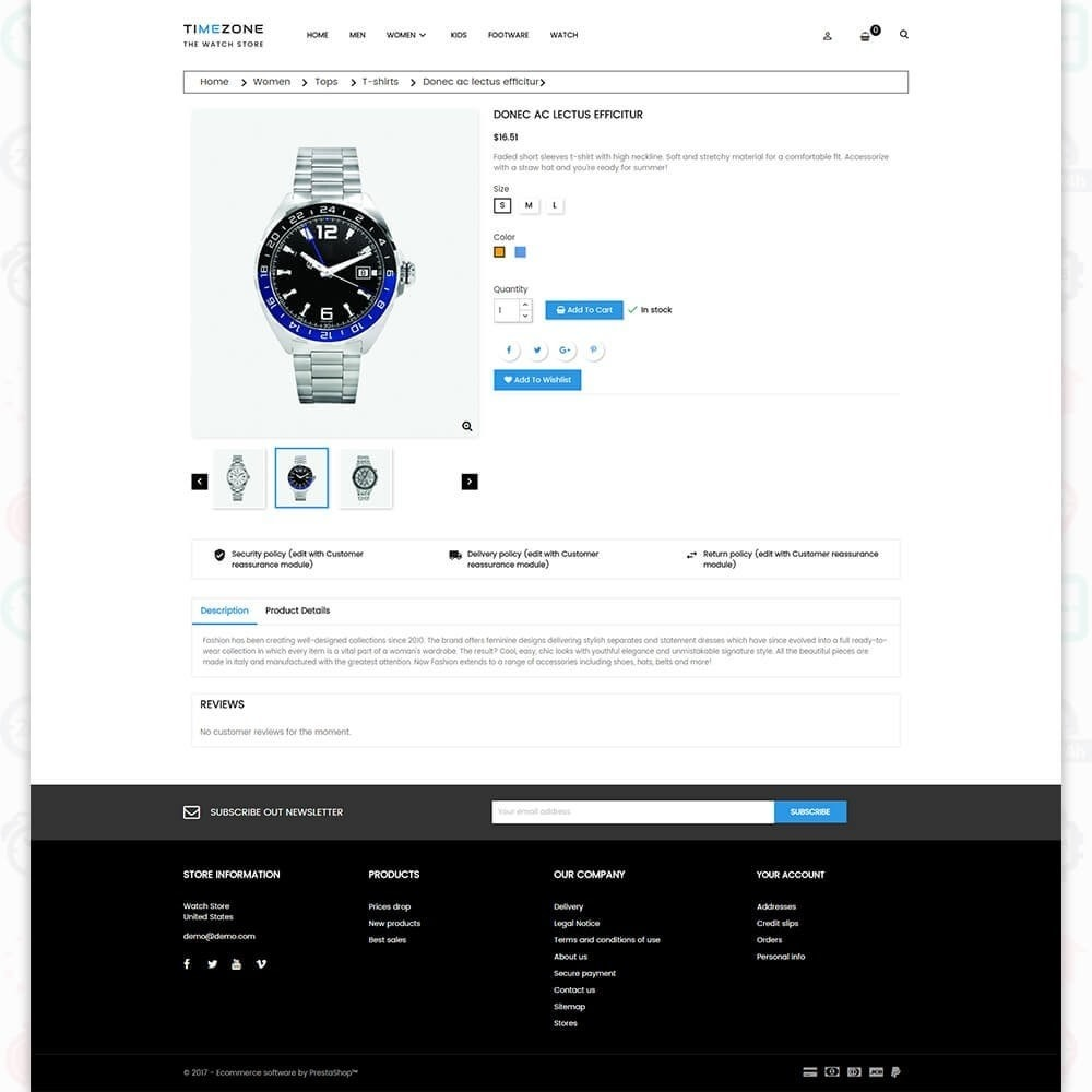 theme - Sieraden & Accessoires - Timezone - The Watch Store - 5