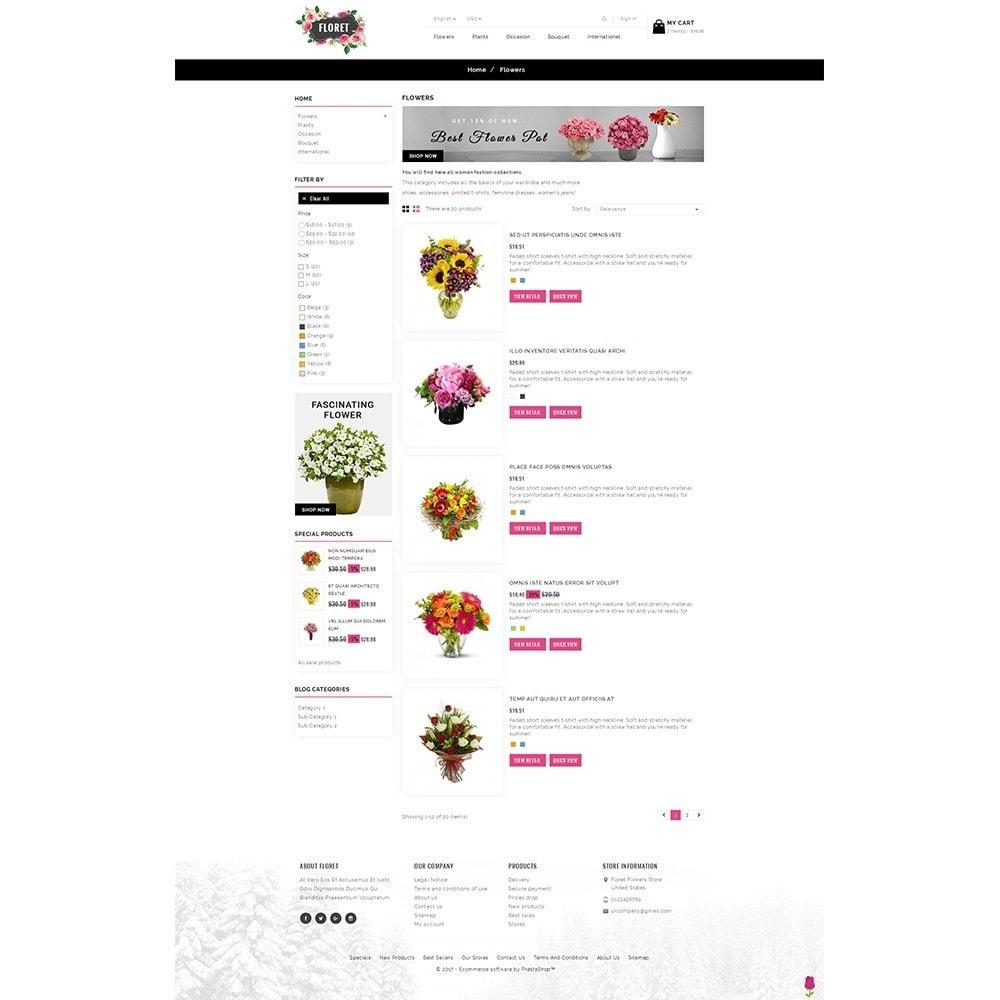 theme - Regalos, Flores y Celebraciones - Floret Flower Store - 4
