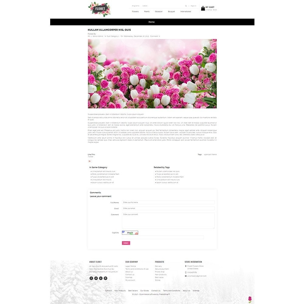 theme - Cadeaus, Bloemen & Gelegenheden - Floret Flower Store - 8