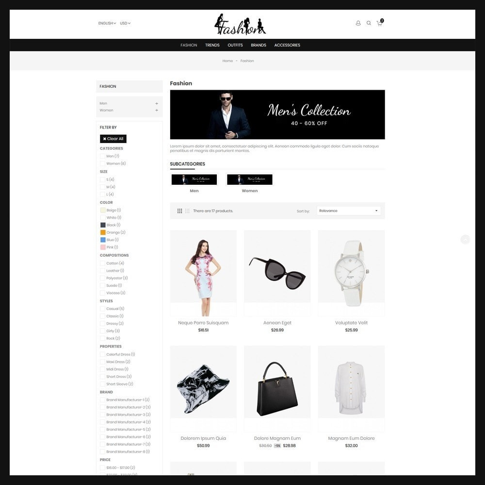 theme - Moda & Calçados - Fashion Store - 3
