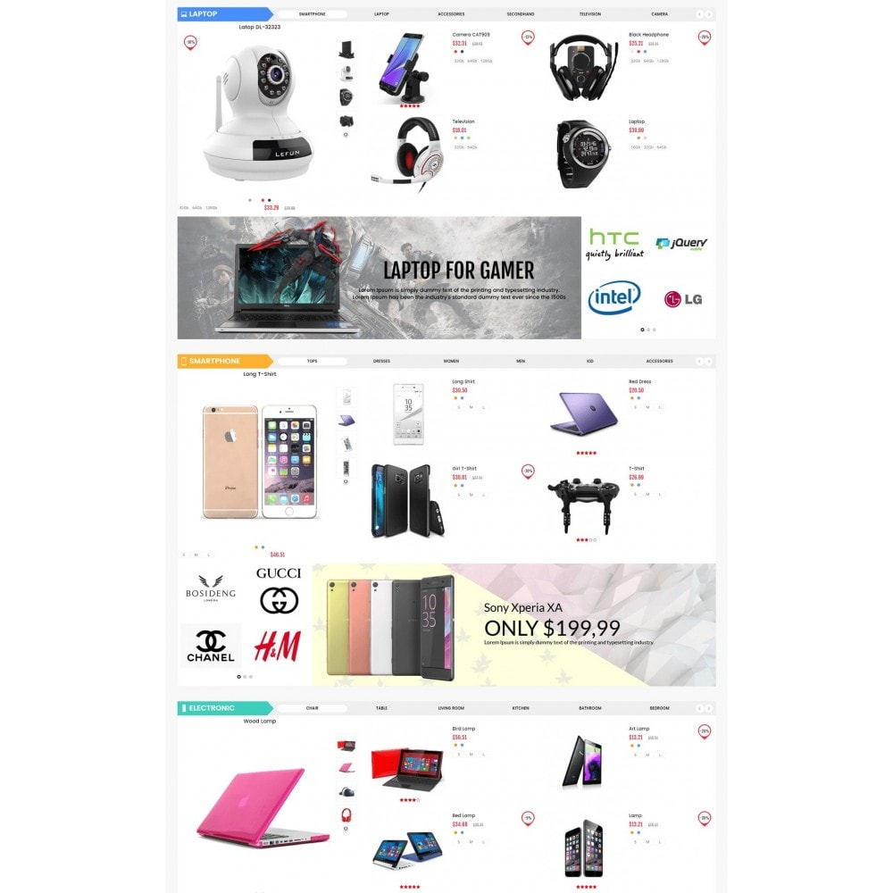 theme - Elettronica & High Tech - Electronic And Computer Estore - 3