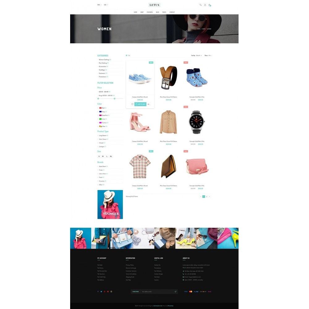 theme - Мода и обувь - JMS Letus 1.7 - 9