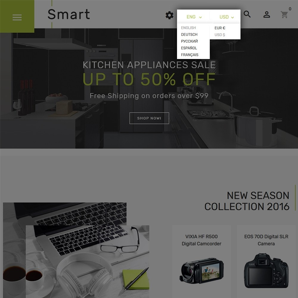 theme - Elettronica & High Tech - Smart - Un Sito di Negozio di Elettronica - 4