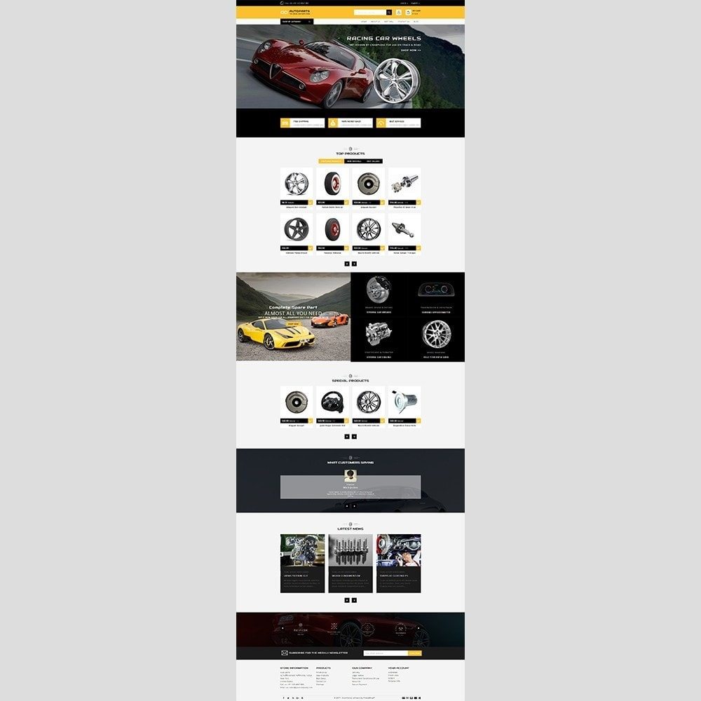 theme - Automotive & Cars - Auto parts - 2
